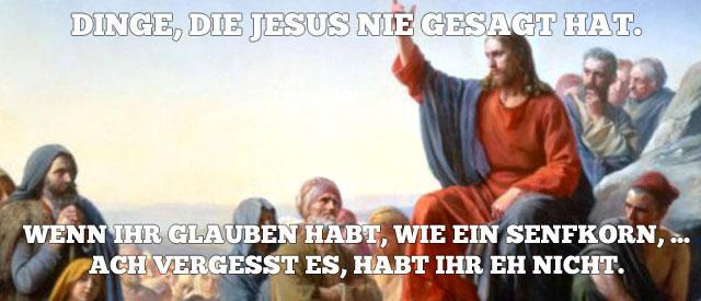 jesussenfkorn