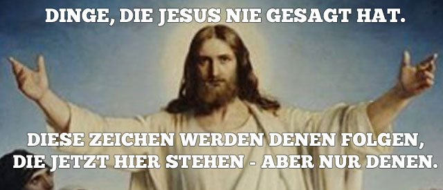 jesuszeichenfolgen